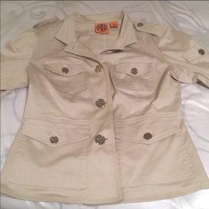 Gorgeous Tory Burch khaki Cotton jacket, 6